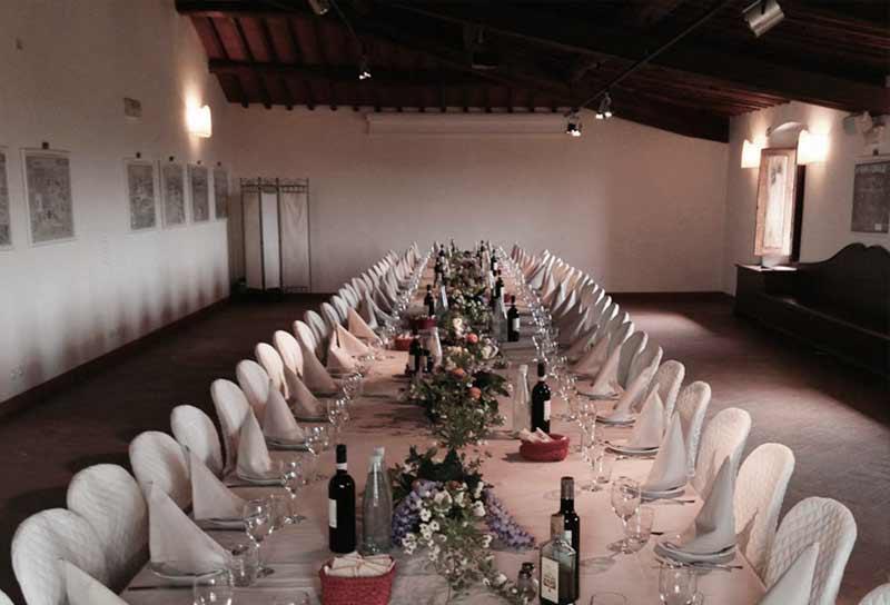 La sala Olivaia