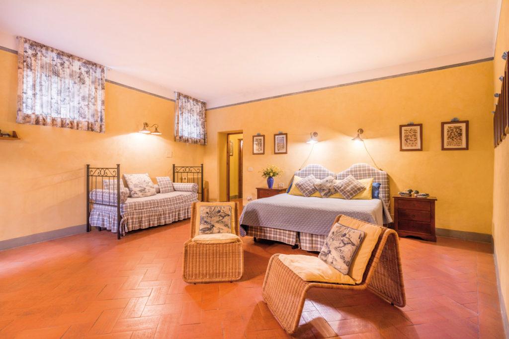 appartamento corte letto padronale